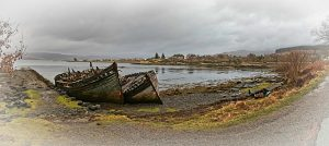 Fishing Boats @ Salen